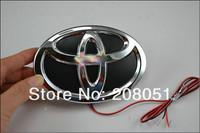TOYOTA PRADO logo light 4D led rear  LED cold light emblem led logo Car Sticker car badge