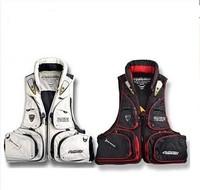 Best Quality New Arrive 2014 Bluefish vest 100% polyamides life jacket fishing vest whistle size M F XXXL free shipping