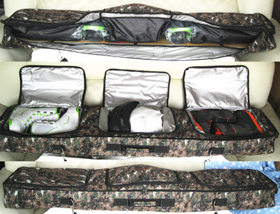 2014 new arrival monoboard 155cm snowboard bag skiing shoes fitted device free shipping(China (Mainland))