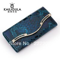 2013 female  fashion genuine leather wallet