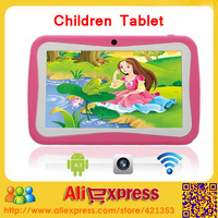 Professional high quality Kids Tablet PC 7 inch Android 4.2 RK3026 Dual Core Dual Camera 512M RAM 4GB ROM