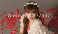 10xArtificial flower headband PE foam DIY flower head crown Hawaii headpiece NW02 in free shipping
