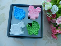 3D Various Cookie Fondant Cake Sugarcraft Chocolate Decorating Plunger Mould Cutter,cookie cutter retail free shipping