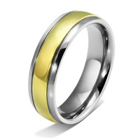 14k gold titanium  ring for women and men  U.S size 6-13 top quality  TR-005