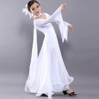 HN-02 S-XXL Salomon Girls ballroom dance competition dresses Flamenco dresses Dress for ballroom dancing escapulario Flamenco