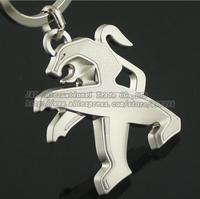 Peugeot auto supplies peugeot keychain , peugeot emblem metal key chain,Peugeot 307/308/206/408/408/3008 series