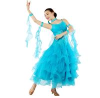 HN-01 Ballroom dance competition dresses Ballroom dance dress women Disfraces Salomon Flamenco dress Ballroom dancing dress