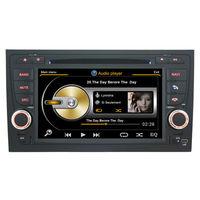 Car DVD Player GPS Navi for Audi A4 RS4  S4  2002 - 2007 + 3G WIFI + V-20 Disc + 1GB cpu + DDR 512M RAM + DVR + A8 Chipset