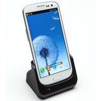 Free shipping High Quality USB dual charger Cradle charging Docking station & Battery Charger for Samsung Galaxy S3 SIII i9300
