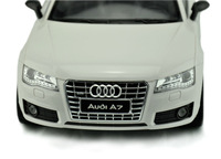 Free shipping Exquisite  1:12 scale AUDI A7 full function radio control Exquisite racer model  Drift weapon