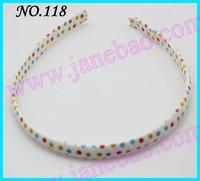 free shipping 30pcs girl woven headbands popular ribbon headbands mix color baby headbands