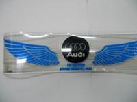 Free Shipping 80*19cm Genuine High Quality Equalizer Sound Active Flashing EL Car Sticker Wing Car Logo Car Music Rhythm Lamp