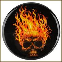Free Shipping  Flame Pattern DIY Car PVC Soft Decoration Sticker  - 1PCS