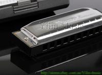 Free shipping Swan SW1020H-3 10-hole blues harmonica
