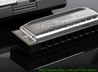 Free shipping Swan SW1020H-3 10-hole blues harmonica
