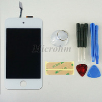 10pcs/lot 100% Brand New For ipod Touch 4 LCD Display+Touch Screen Glass Complete Assembly Free shipping W/tools