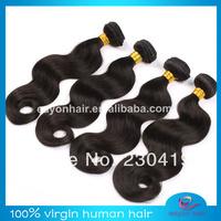 Hot sale genesis virgin brazilian hair,4 bundles brazilian hair lot,10-30inch natural color,human hair weave,DHL free shipping