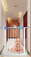 HOT SELLING SGS certificated pet safety gate pet isolating valve child safety door fence cage height:77cm