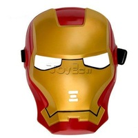 LIGHT UP IRON MAN MASK - Avengers Iron Man Dress Up Costume Universal Kids Size Iron Man Light Up Mask