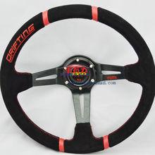 wholesale momo suede steering wheel