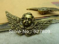 20pcs/lot ancient bronze 23*50mm  diy accessories vintage