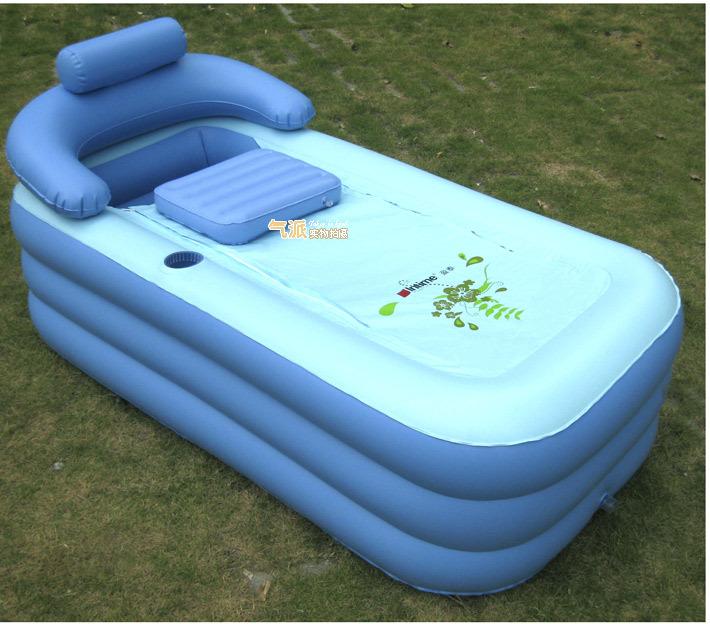 Tinas De Baño Inflables:Portable Bathtub Spa