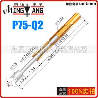 100PCS/lot P75-Q2  Dia 1.02mm length 16.54mm 100g Spring Test Probe Pogo Pins Free Shipping