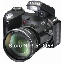 Free shipping Protax New Polo Protax SLR D3000 Digital Camera 16MP 3.0 TFT 8X Zoom Digital Camera HD Digital Video D3000