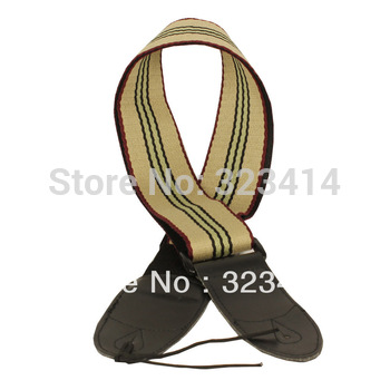 Adjustable Cotton Guitar Strap for Electric Acoustic Bass Guitar