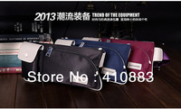 Free shipping/ 2013 new Men's Casual pockets of outdoor sports nylon bag / Unisex  waist packs / LS006