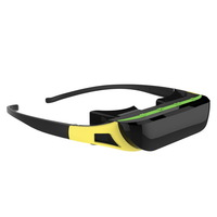 """New 84"""" 16:9 Virtual Wide Screen Video Glasses Private Eyewear Mobile Theater"""