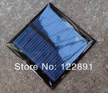 Wholesale! 20pcs/lot Solar Panels 5.5v 0.6W Mini Solar Cell 65x65MM For Small Power Appliances Drop Shipping Free Shipping