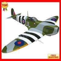"High performance High Quality rc gas airplane balsa wood model airplanes model kits Balsa Warbirds Spitfire Mk IX-89""50cc Toys"