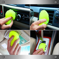2014 New 4pcs/lot Car Clean Magic Glue Multifunction With Dust Removal Auto Detailed Cleaner Mud for Keyboard/Toy/Phone
