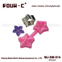 Flower fondant cake mold,3D cupcake silicone mold