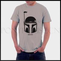 BOBA FETT STAR WARS figures men short sleeve T-shirt new arrival Fashion Brand t shirt for men 2013 summer