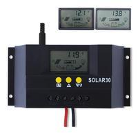 2014 30A 12V/24V Solar Controller Regulator Charge Battery Safe Protection CE Certify