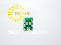 FREE SHIPPING 20PCS TSSOP20 SSOP20 MSOP20 SOP20 TURN DIP20 20pin  IC adapter Socket / Adapter plate  PCB Suitable for IC socket