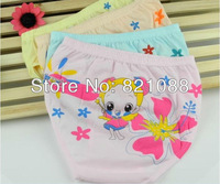 Free shipping! 10pcs infants cotton underwear cute cartoon design baby boys/girls underwear 1221