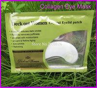 Crystal collagen Eye Mask Hotsale Crystal Eyelid Patch Pad Moisture Anti-Wrinkle Beauty Free shipping
