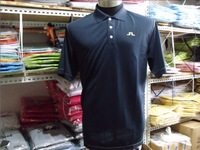 Hot sales J LINDEBERG golf brand with 100% cotton men T-shirt men's T-shirt with short sleeves