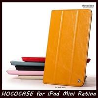 Original HOCO ARMOR Series Ultrathin PU Folio Leather Case for Apple iPad mini 2 /iPad mini Retina + Free Shipping