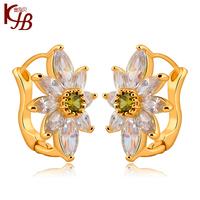 2014 New  Stud Earring Chinese Red  Ear Buckle Accessories Luxury Zircon Quality Earrings