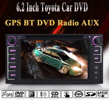 6.2 Inch Toyota Univesal Car DVD Player for Toyota RAV4/TOYOTA FJ CRUISER/TOYOTA ALPHARD/PREVIA GL/ HIACE/ IELAS/TOYOTA FORTUNER