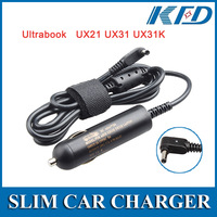 Laptop 19V 2.37A Car Charger for ASUS Laptop UX21 UX 21E UX31 UX31E power supply 3010