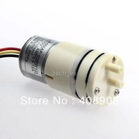 for car tools S50-CE 8-05 60kPa 40mL 1sec Two Holes DC 12V 0.12A Three Cables Air Pump Motor free shipping