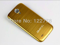 2013 New Arrival Ginovo for Samsung i9500 Galaxy S4 SIV  All Brushed Metal Aluminum Replacement Back Cover Housing Battery Door
