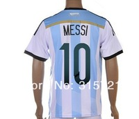 Argentina Lionel Messi #10 mens soccer football jerseys shirt world cup national team customized embroidery logo