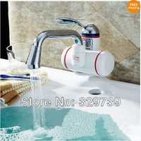 Free shipping+Kitchen fast heating electric water heater fast electric faucet water taps ( CE )