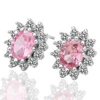 Hot Sell Stone Earring Czech Diamond Women Fashion Jewelry Free Shipping